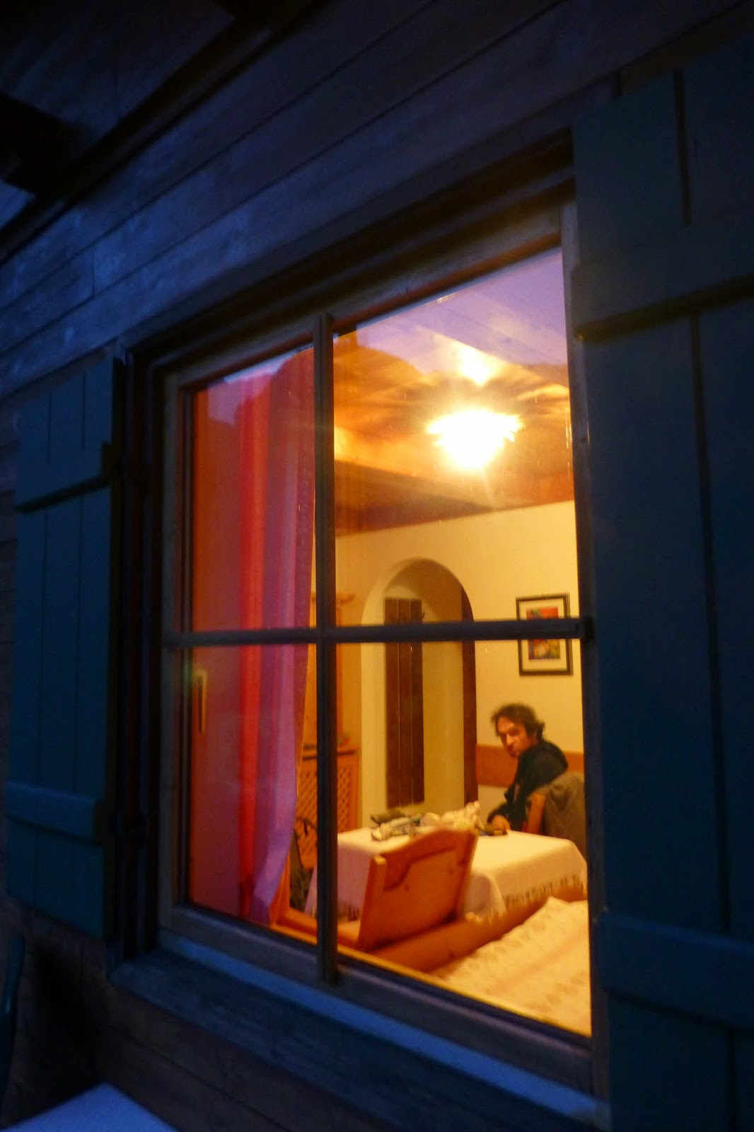 Zimmer im Haus Hohenwarter, vom Balkon aus