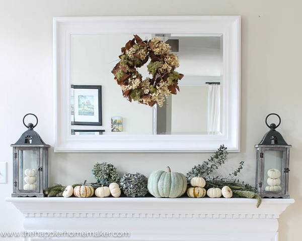 Simply home simply seasonal autumn decorating for Harvest decorations for the home