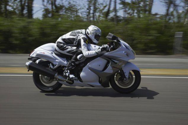 2014 Suzuki Hayabusa ABS make Driver more Confident   New Motorcycle