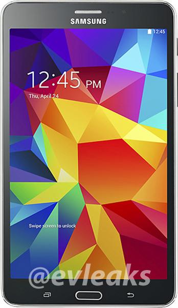 A Samsung parece estar pronta para lançar o Galaxy Tab 4 com 7 polegadas, também terá modelos de 8 e 10 polegadas, nas cores preto e branco