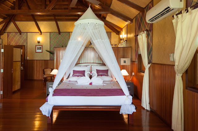 camera da letto Lankayan Island Resort