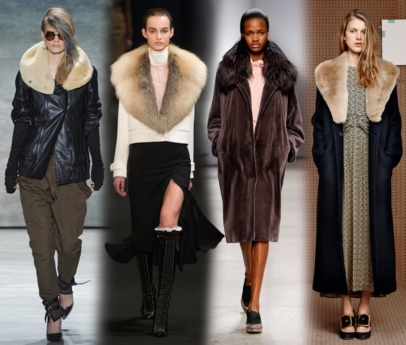 von vogue nyfw fall 2015 trends faux fur collar