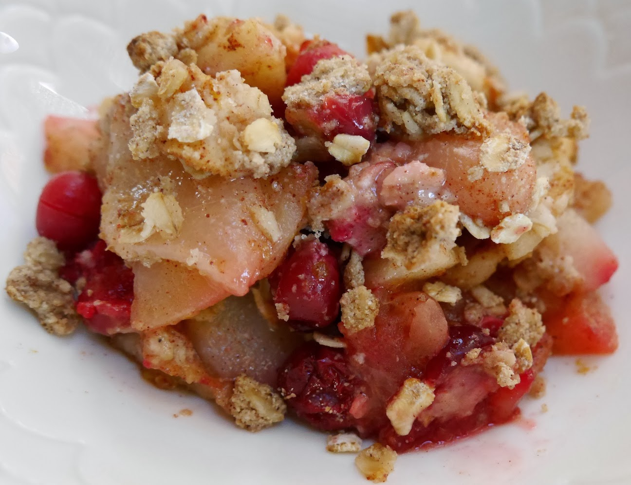 ... Life: Apple, Pear, And Fresh Cranberry Crisp Vegan And Gluten Free