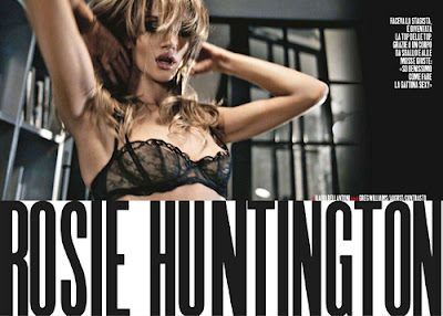 Model,Max Magazine,Rosie Huntington-Whitely,