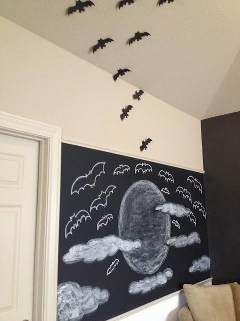 halloween chalkboard idea