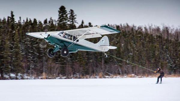 Plane+Skiing!
