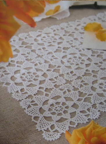 Free Crochet Patterns Rectangle Doily Traitoro For