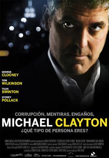 cartel película Micheal Clayton