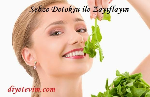 Sebze Detoksu ile zayıflama