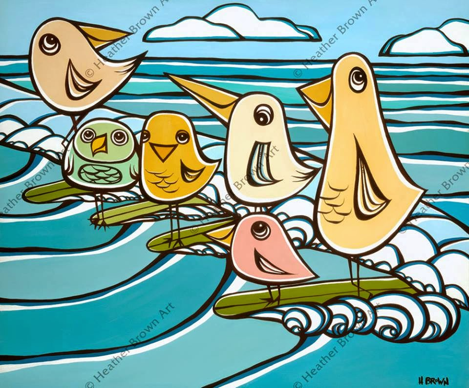hawaii artist heather brown birds