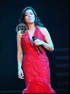 Angeline Quinto red gown