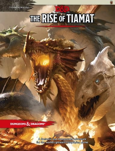 The Rise of Tiamat D&D 5º Edición
