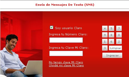 Mensajes a Claro Peru