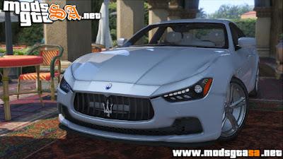 V - Maserati Ghibli S para GTA V PC