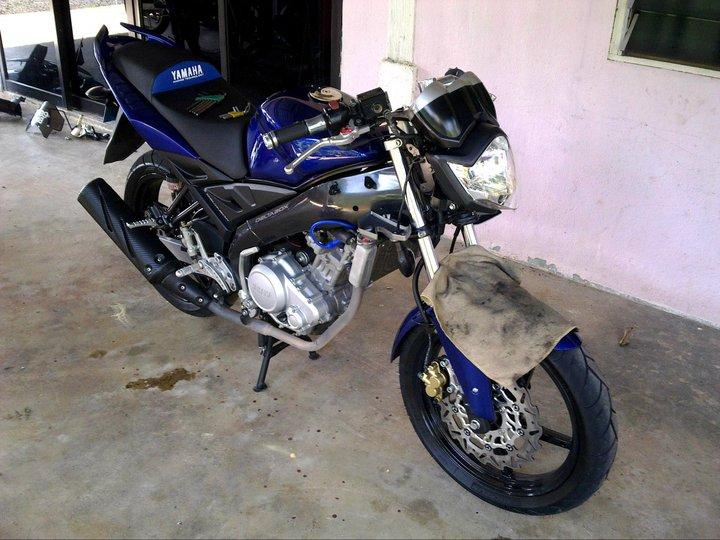 Tranformasi Dari Yamaha FZ150i Ke Yamaha R15