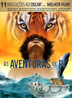 Filme Poster As Aventuras de Pi DVDRip XviD Dual Audio & RMVB Dublado