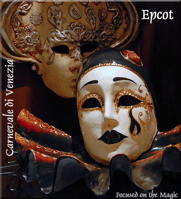 Carnevale di Venezia Masks Venetian mask Epcot Italy