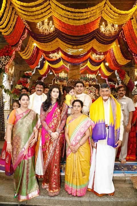 Balakrishna's Grandson Devaansh Annaprasana Photos