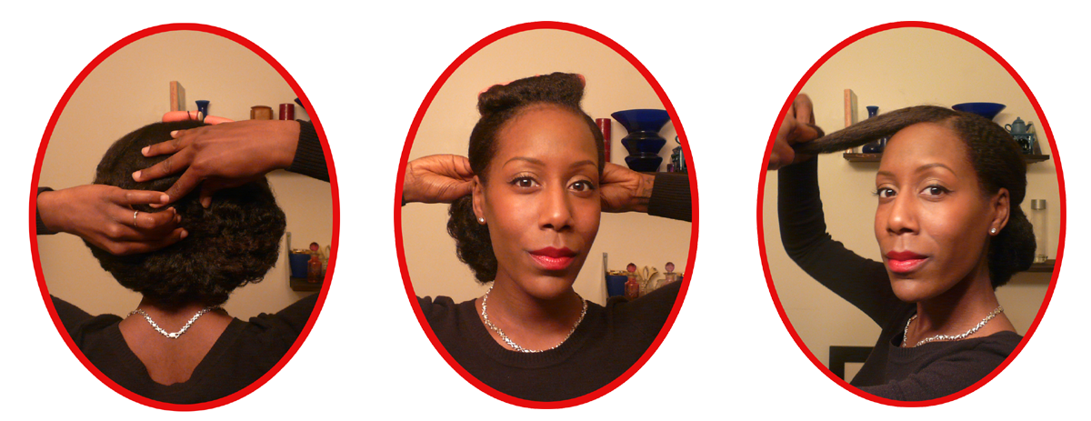 Step By Step Of How To Create The 1940s Hair Style Victory Rolls