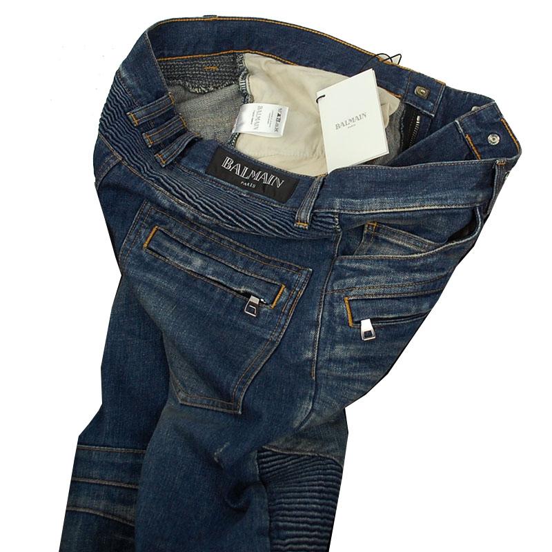 balmain biker jeans and trousers size guide for spring summer 2013 second kulture. Black Bedroom Furniture Sets. Home Design Ideas