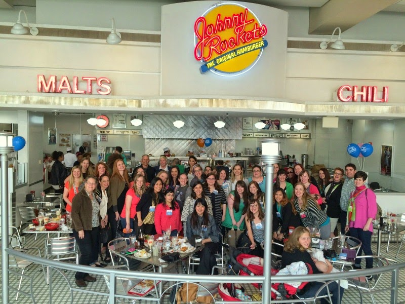 How To Survive Your Blogging Conference; Johnny Rockets