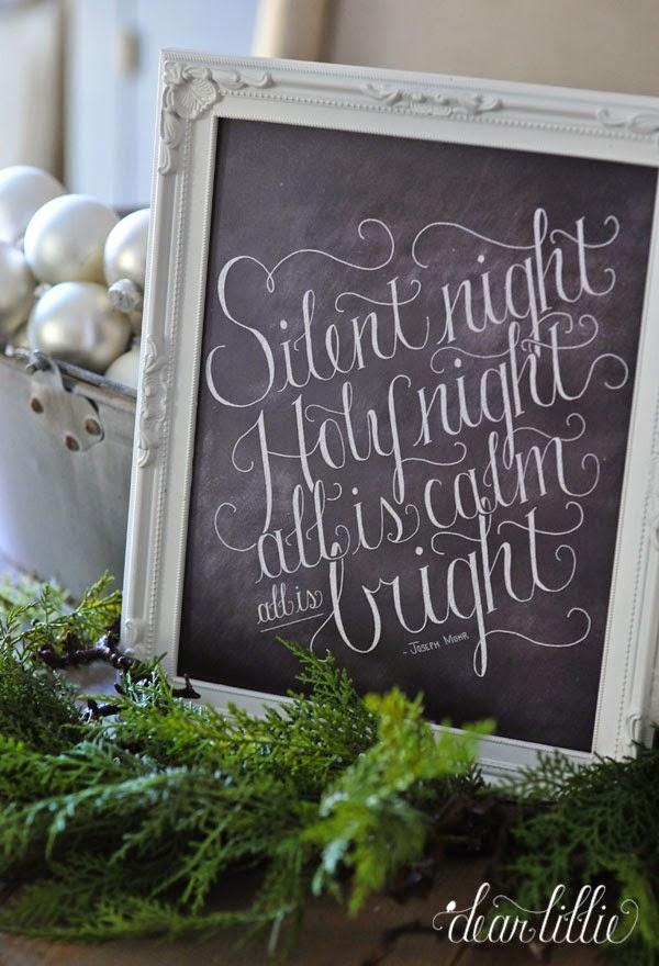 http://www.dearlillie.com/product/silent-night-11x14-chalkboard-print