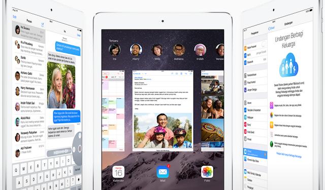 Apple iPad Air 2 Full Spesifikasi & Review (Kekurangan, Kelebihan dan Harga)