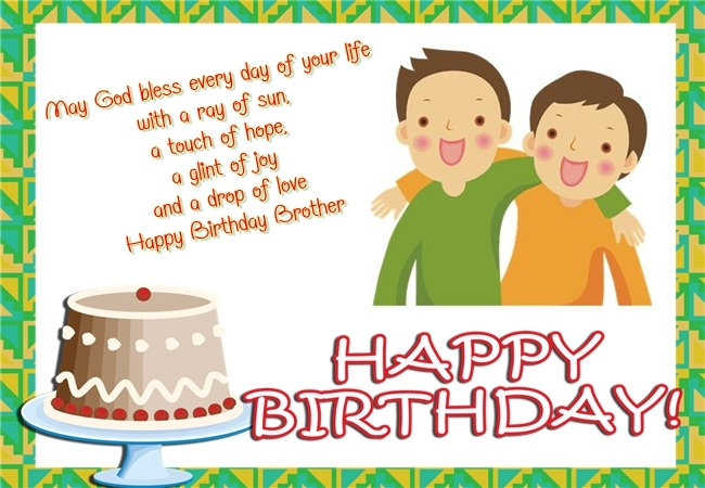 Happy birthday brother wishes HD images pictures photos – Happy Birthday Greetings to a Brother