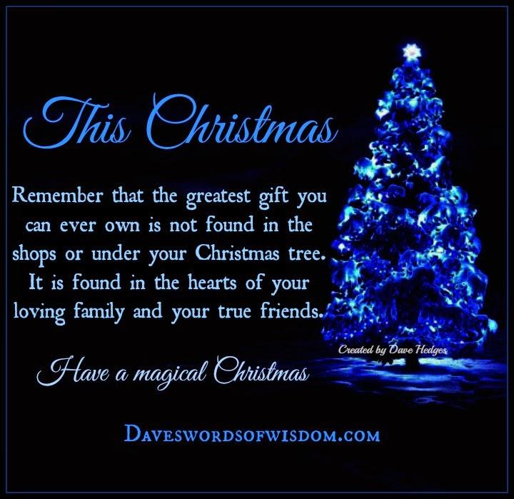 Daveswordsofwisdom Com The Greatest Christmas Gifts