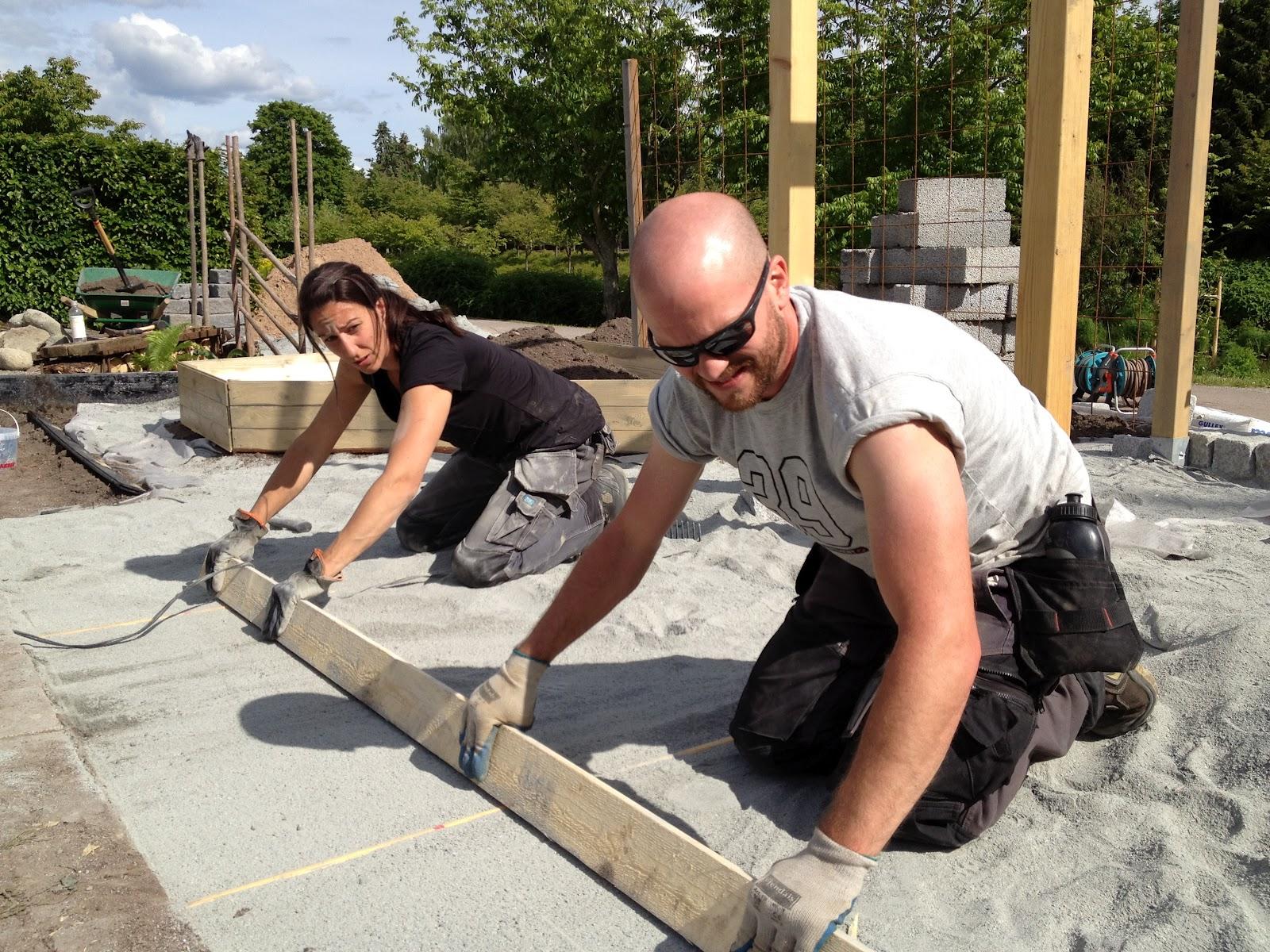 Enköpings idéträdgårdar 2012: Bilder från tredje anläggningsdagen