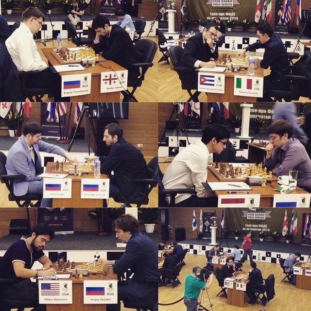 Grand Prix Khanty-Mansiysk Ronda 1