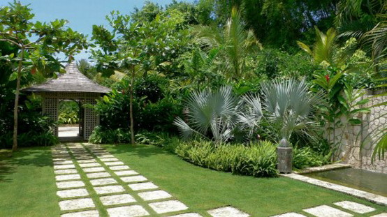 Home designs and garden blog aesthetics with modern for Tropical garden designs