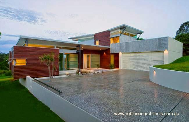 Frente con acceso a residencia contemporánea en Australia