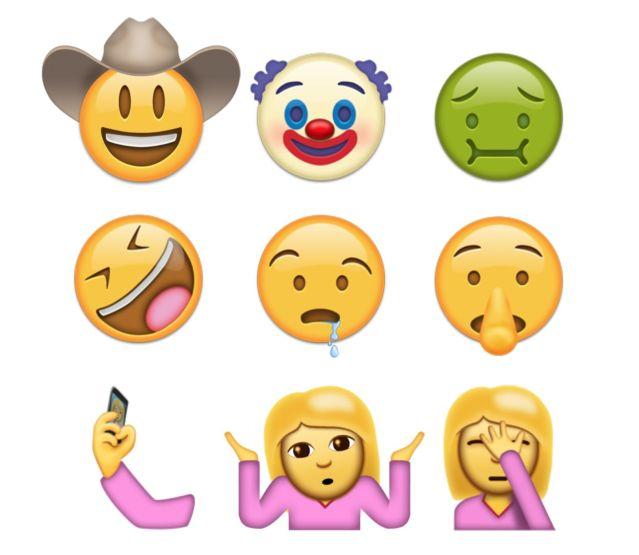 74 emojis qui vont débarquer sur votre iPhone en 2016