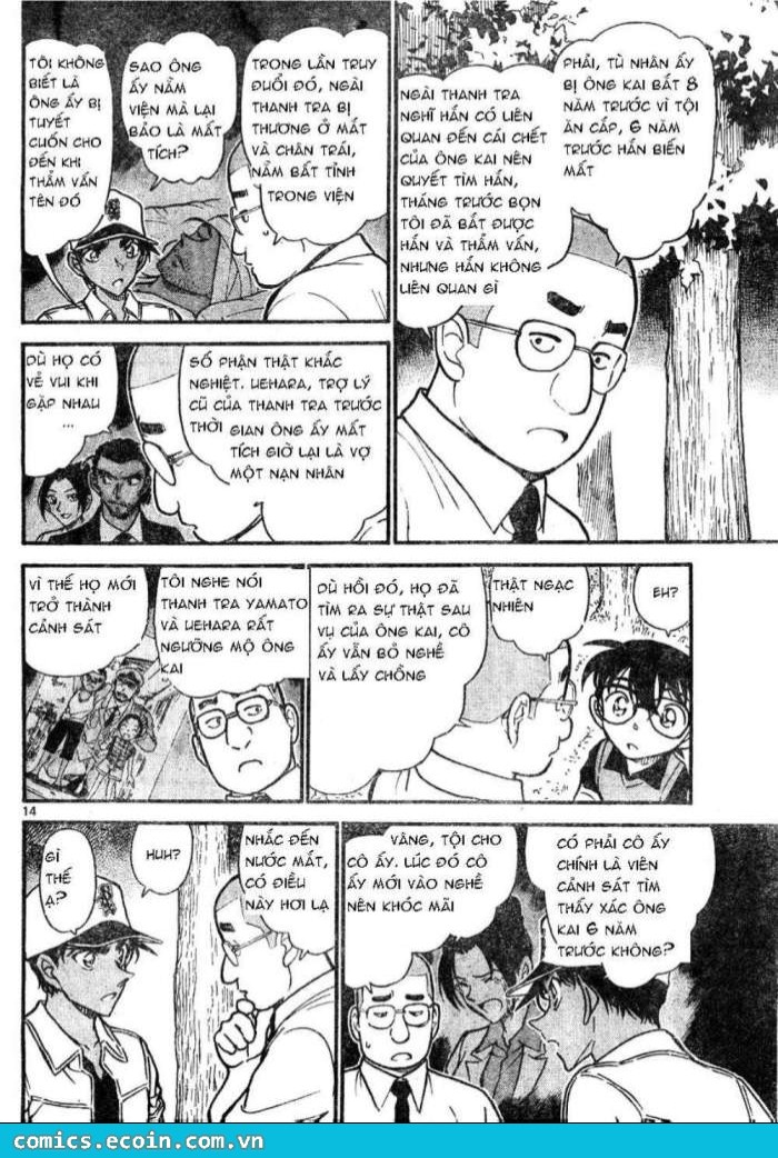 Detective Conan - Thám Tử Lừng Danh Conan chap 617 page 14 - IZTruyenTranh.com