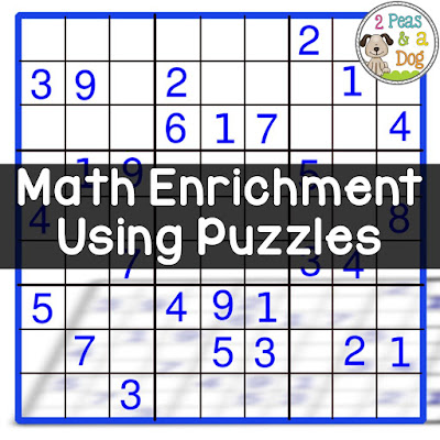 Use KenKen puzzles as math enrichment or fast finisher work in your classroom.