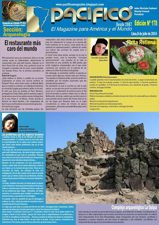 Revista Pacífico Nº 178 Arqueología