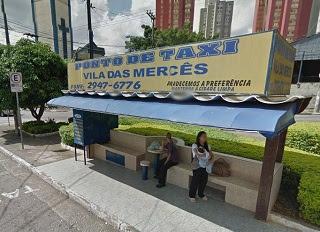 ponto de taxi vila das mercês