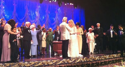 benny hinn remarriage pictures