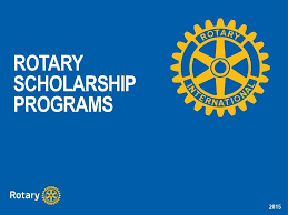 Rotary Scholarship for Water and Sanitation Professionals