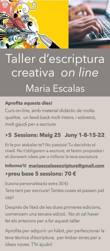 Cursos d'escriptura creativa on-line