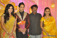 Celebraties at Actor Bharat n Jessy Wedding Reception Photos+%2528105%2529 Actor Bharath n Jessy Wedding Photos