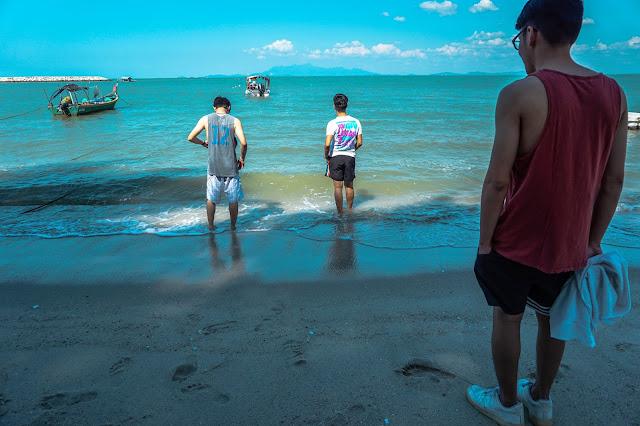 Boyagin's Vlog | Beach | Jarod LJJ Jaden KJ Jing LTJ