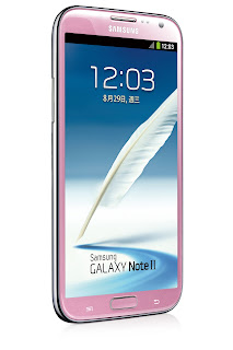 Samsung Galaxy Note II Pink