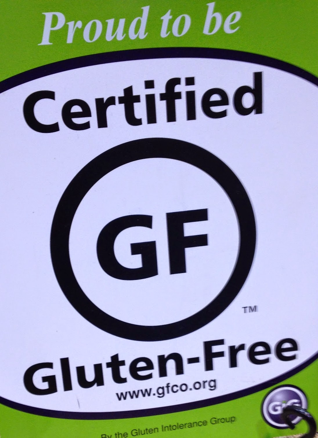 Certified Gluten-Free