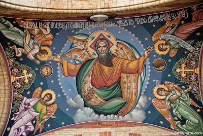 Pantocrator de la catedral ortodoxa de Sibiu