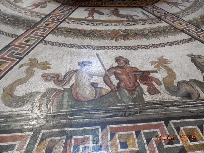 mozaic la Muzeul vatican