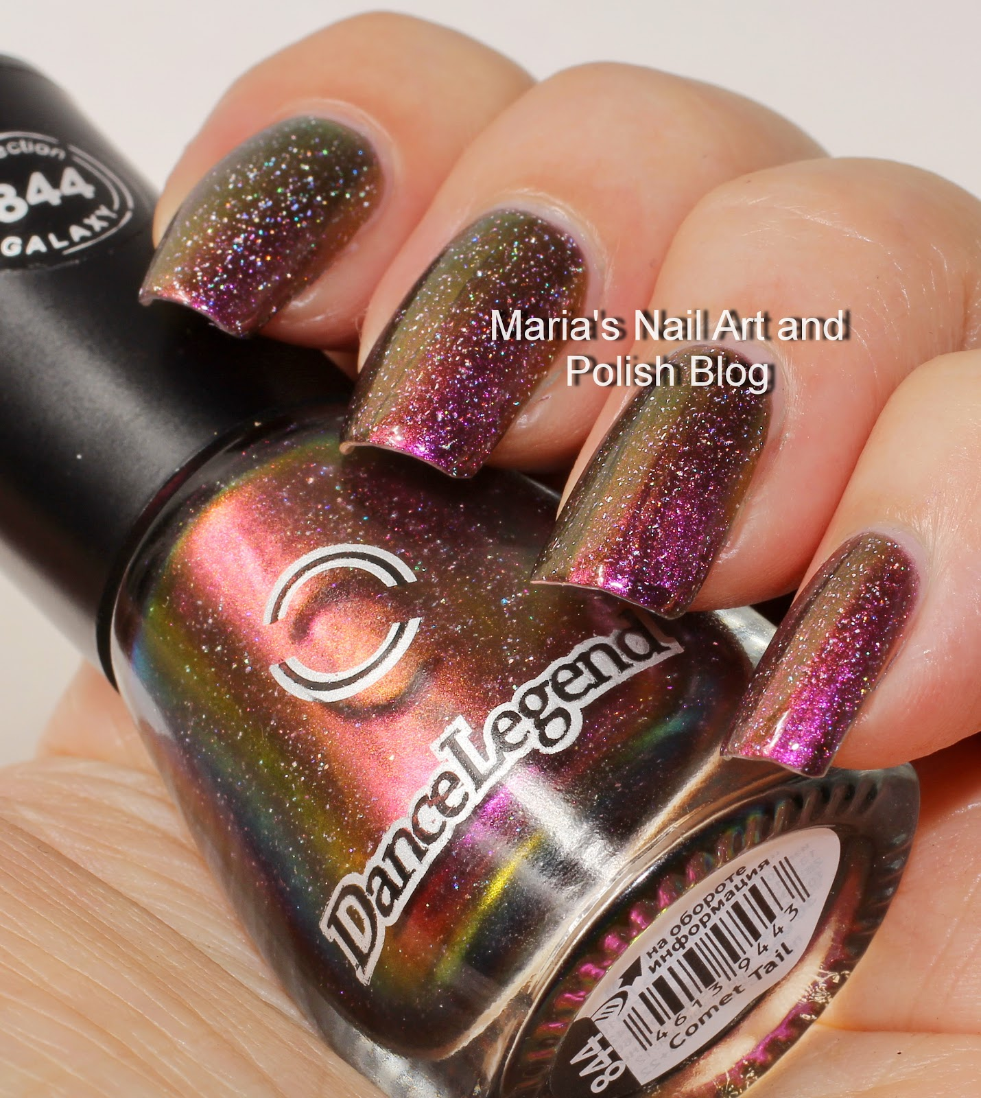 Marias Nail Art and Polish Blog: Dance Legend Comet Tail swatches
