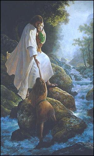 Jesus Grabbing your hand