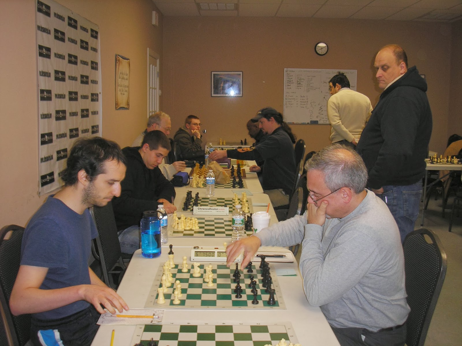 Garden State Chess League: Lehigh Valley 3 Chess Mates 1